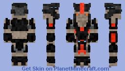 Brute cheiftain Halo Minecraft Skin