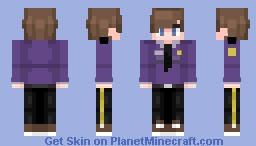 William Afton (FNAF SL - FNAF 3) [Updated] Minecraft Skin