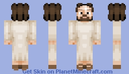 Jesus Loves You Minecraft Skin