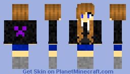 Girl Skin Minecraft Skin