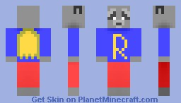 The Super Raccoon Minecraft Skin
