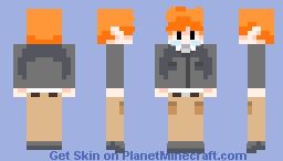 Pokémon Trainer Blue Minecraft Skin