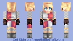 ♡ 𝓿𝒶𝓁𝓀𝓎𝓇𝒾𝑒𝓃 ♡ ysolda battle-shield | rq Minecraft Skin