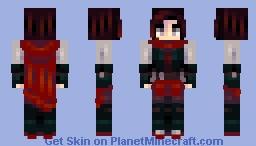 Ruby Rose // RWBY Minecraft Skin