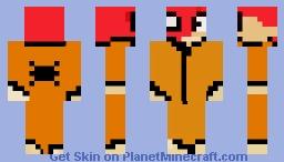 prison spidey Minecraft Skin