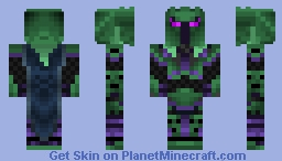 The Knight Of The Shadow Realm Minecraft Skin