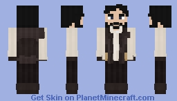 The Venturian Bartender [Book Of Ventura NPC Skin] [V1] Minecraft Skin