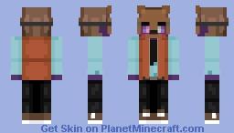 Michael Afton (FNAF SL - FNAF PS [6]) Minecraft Skin