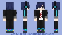 Minato Arisato - Persona 3 Dancing Moon Night Minecraft Skin