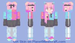 Paradise (long hair/female ver) . Full skin Minecraft Skin