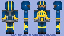 Speedy Pines Racing Suit (IDEA/Xisuma) Minecraft Skin