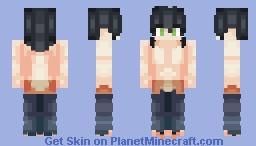 Inosuke Hashibira (Kimetsu no Yaiba) Minecraft Skin