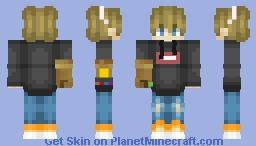 My First Skin!!! Minecraft Skin