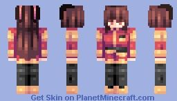 ♡ 𝓿𝒶𝓁𝓀𝓎𝓇𝒾𝑒𝓃 ♡ velvet scarlatina   rwby Minecraft Skin