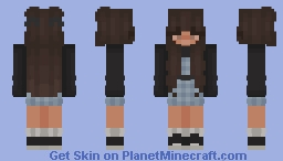 Blue Dress♦ Minecraft Skin