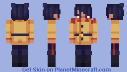 Otonoshin Koito (Golden Kamuy) Minecraft Skin