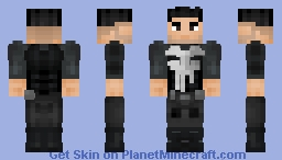 Punisher Minecraft Skin