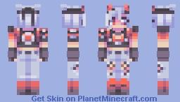 st w the wonderful eluusive Minecraft Skin