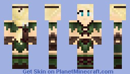 Amazon Princess Minecraft Skin