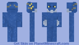 Aaratan male - sapphire Minecraft Skin
