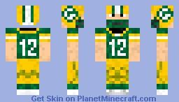 Aaron Rodgers Minecraft Skin