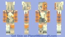 pumpkin + werewolf Minecraft Skin