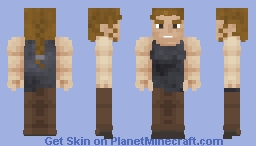 Abby Anderson (Seattle) | The Last of Us Part II Minecraft Skin