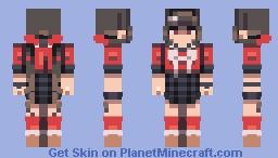 Maki Harukawa (again) Minecraft Skin