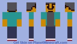 Abed Nadir -- Community S03E20 Minecraft Skin