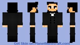 Abraham Lincoln Minecraft Skin