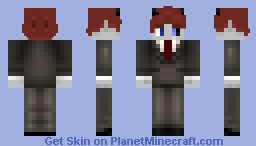 ~shadow gamer~ Minecraft Skin