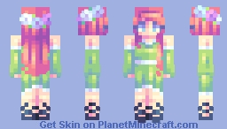 """♡ 𝓿𝒶𝓁𝓀𝓎𝓇𝒾𝑒𝓃 ♡ """"everything wants to live.."""" ♬ Minecraft Skin"""
