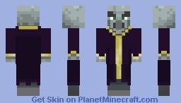 Evoker (from minecraft dungeons) Minecraft Skin