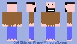 hobo guy :) Minecraft Skin