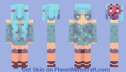 + ᴡᴏʀʟᴅ'ꜱ ᴇɴᴅ + Minecraft Skin
