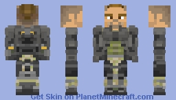 Ruin - Black Ops 3 (Armor Only) Minecraft Skin