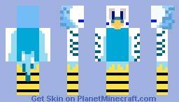 Blue Budgie Skin - skin papużki falistej Minecraft Skin