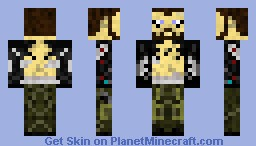 Adam Jensen (Post-Surgery) Minecraft Skin