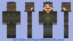 Adam Jensen (Deus ex Human Revolution) Minecraft Skin