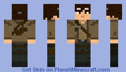 Adam the Survivor Minecraft Skin