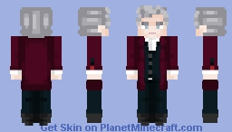 A good Man? ~ 12th Doctor 🌟 Minecraft Skin