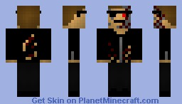 Terminator - Friends First Skin Minecraft Skin