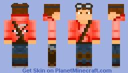 the adventurer Minecraft Skin