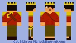 Adventurer (event version) Minecraft Skin