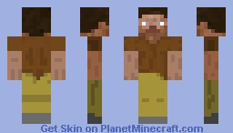 Steeve The Adventurer Minecraft Skin
