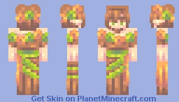 Into the Woods Minecraft Skin