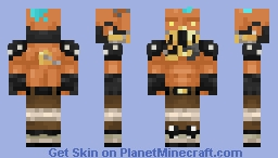 Brawlhalla, Barraza (No face paint) Minecraft Skin