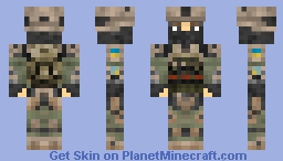 Armed forces of Ukraine: police infantry CORD Minecraft Skin