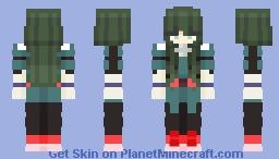 Gender swap Deku! Minecraft Skin