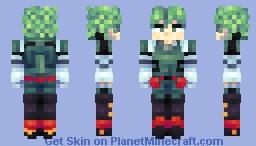 Izuku Midoriya Minecraft Skin
